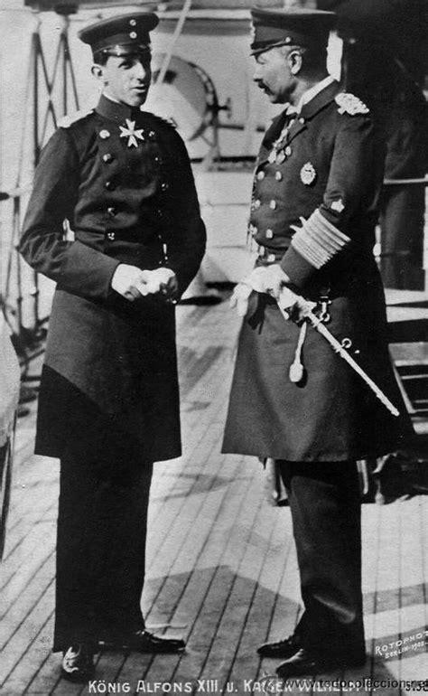 Encuentro de Alfonso XIII y el Kaiser Guillermo II en Vigo ...