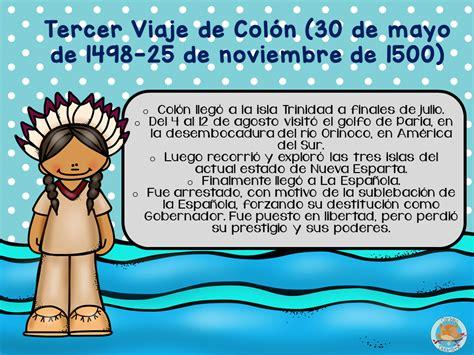Encuentro de culturas los viajes de Cristóbal Colón ...