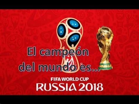 [Encuesta]Quien Ganara el Mundial Rusia 2018   Taringa!