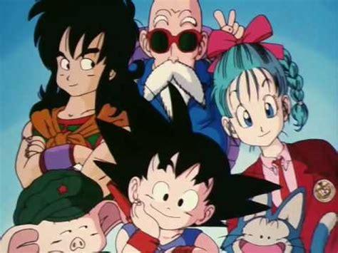 Ending Dragon Ball Japonés HQ - YouTube