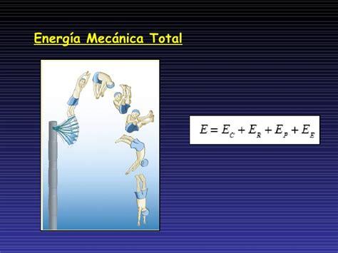 Energia cinetica, potencial, energía mecánica