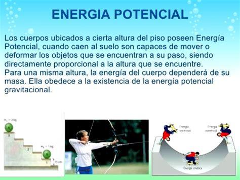Energía potencial | Ecología Hoy
