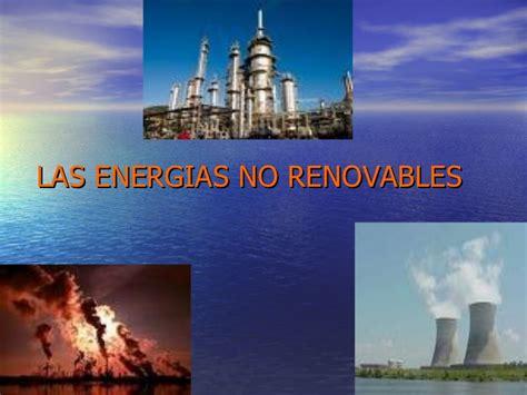 Energia renovable y no renovable