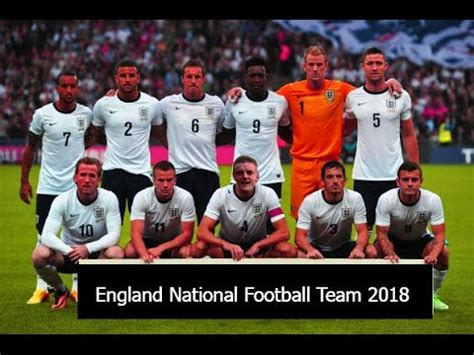 England National Football Team 2018 - YouTube