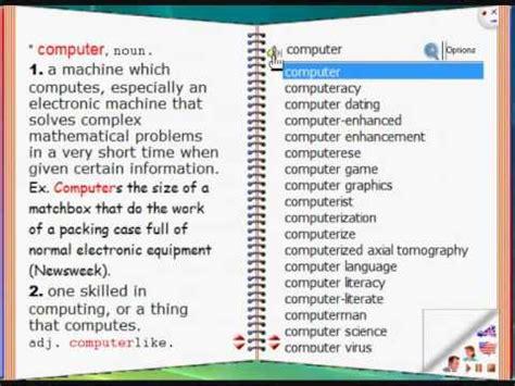 English-English Talking Dictionary - YouTube