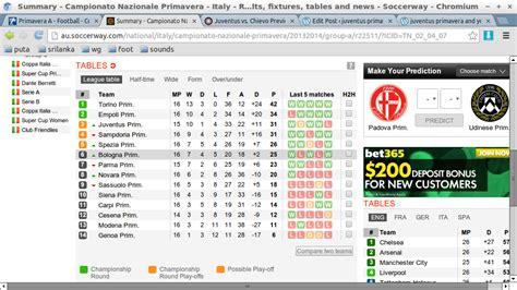 English Premier League Table Via Soccerway | Brokeasshome.com