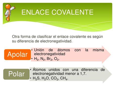 Enlace ionico covalente