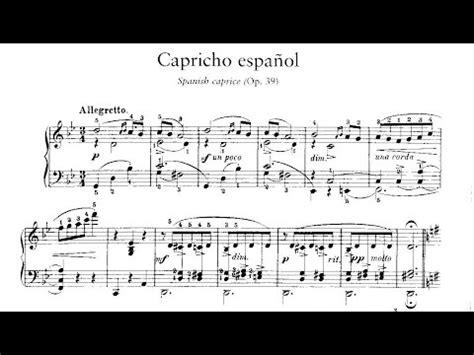Enrique Granados: Capricho español Op. 39  1915    YouTube