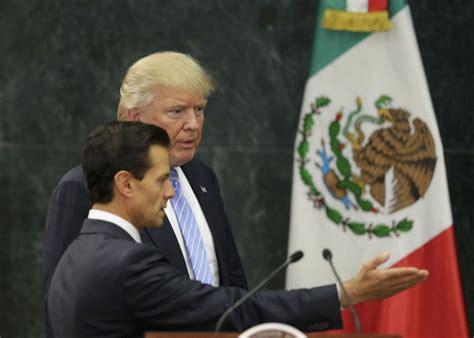 Enrique Peña Nieto Calls Conversation With Donald Trump ...