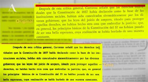 Enrique Peña Nieto plagió su tesis universitaria ...