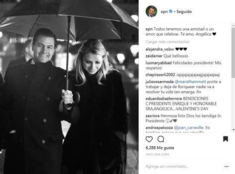 Enrique Peña Nieto se pone romántico con su esposa