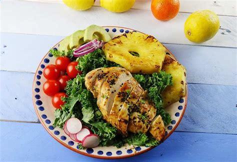 Ensalada de pollo y piña   Jorge Saludable