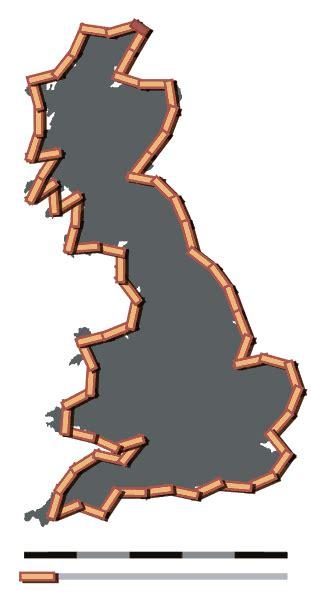 Ensancha tu mente: ¿Cuanto mide la costa de Inglaterra?