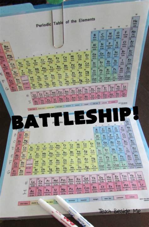 Enseñar la tabla periódica de una forma divertida