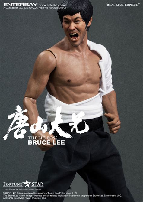 Enterbay Real Masterpiece1/6 The Big Boss Kung Fu Master ...
