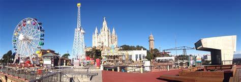 Entrada al parque de atracciones del Tibidabo, Barcelona