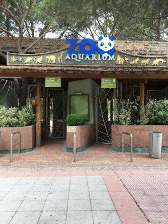 Entrada do Zoo Aquarium de Madri. - Picture of Zoo ...