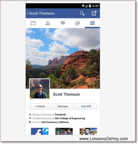 Entrar a dos cuentas de Facebook diferentes en Android ...