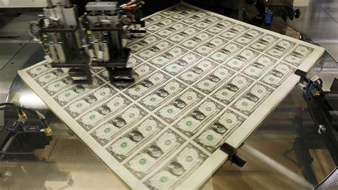 Entrar en la fábrica de imprimir dinero Dólares My países ...