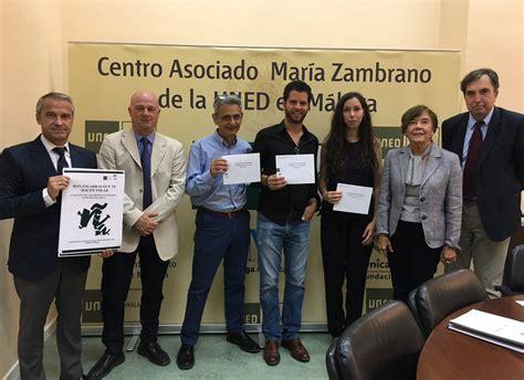 Entregados los premios literarios UNED Málaga y Fundación ...