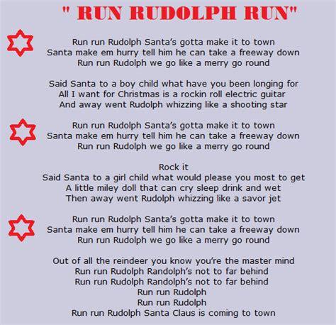 Entresijos musicales: Villancico  Run Rudolph Run