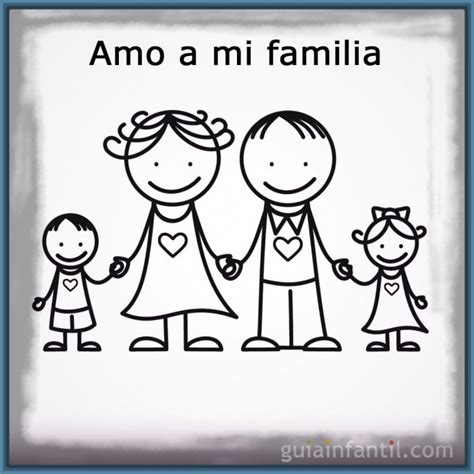 Entretenidas Imagenes para Dibujar de la Familia ...