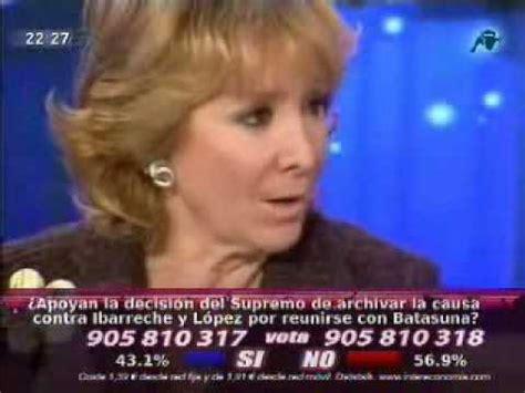 [Entrevista] Esperanza Aguirre en