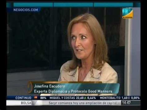 entrevista josefina escudero intereconomia businness TV ...