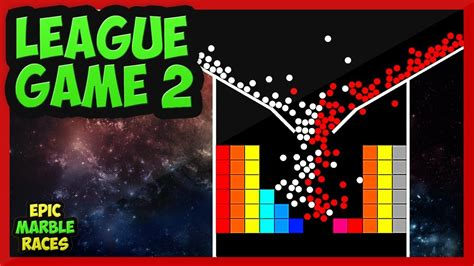 Epic Marble Race League Game 2 - YouTube
