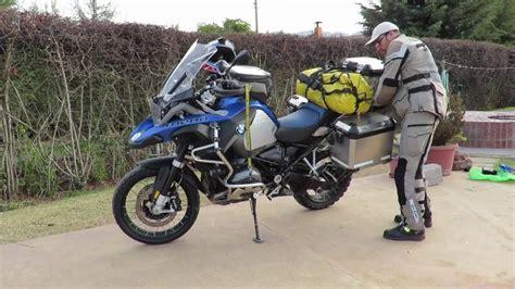 Equipamiento para viaje en moto.   YouTube