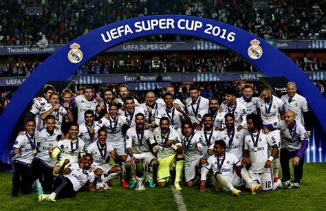 EQUIPOS DE FÚTBOL: REAL MADRID Campeón de la Supercopa de ...