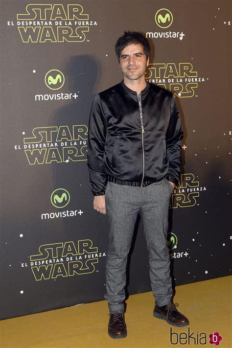 Ernesto Sevilla en el estreno de  Star Wars: El Despertar ...