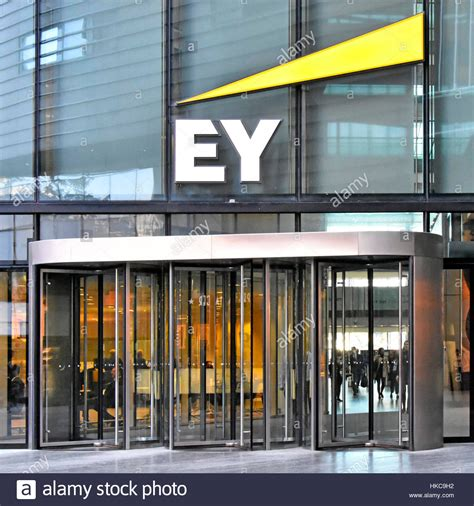 Ernst & Young London England uk HQ offices revolving door ...