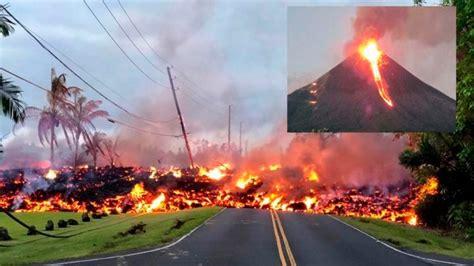 Erupción del volcán Kilauea EN DIRECTO en Hawaii | YouTube ...