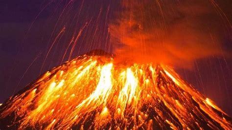 Erupcion Del Volcan   Lesbos