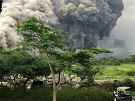 Erupción volcán de fuego en Guatemala Chiapas   ActitudFem