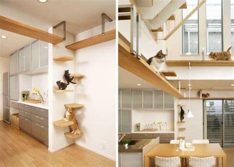 Escalera decorativa para gatos
