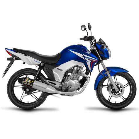 Escapamento Titan 150 2014 / Fan 150 2014 - Pro Tork Turbo