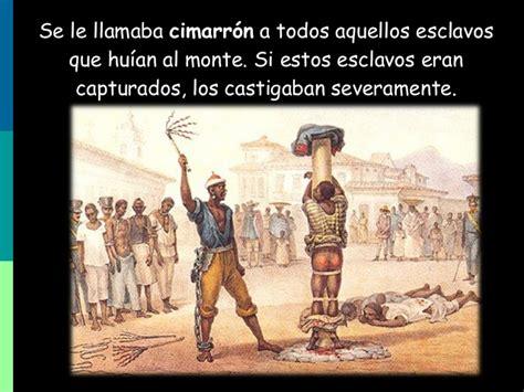 Esclavos africanos en America