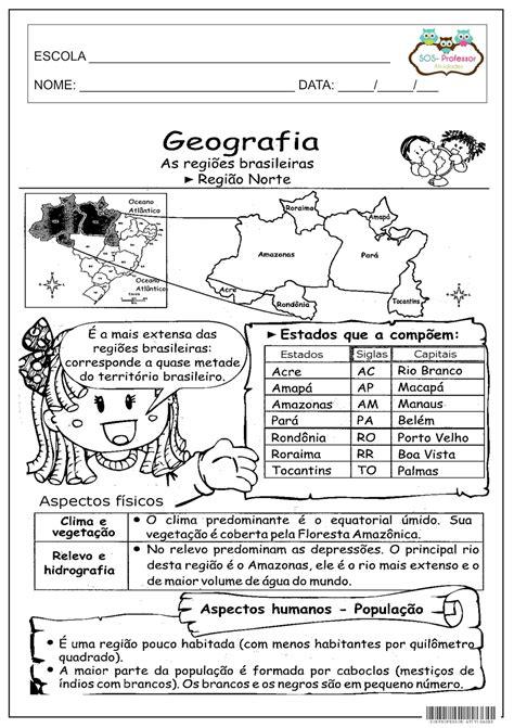 Escola e Arte: Região Norte   Atividades