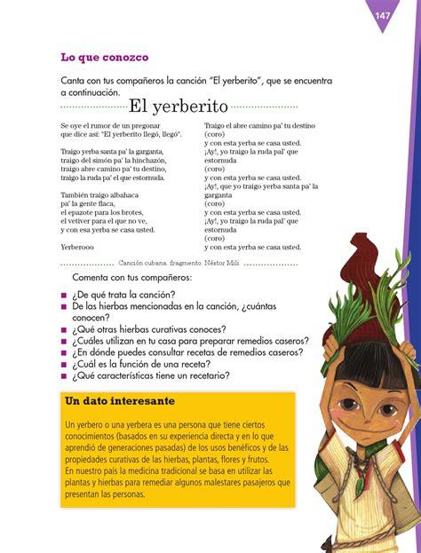 Escribir un recetario de remedios caseros - Español 3ro ...