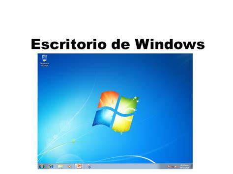 Escritorio de Windows. Escritorio de Windows Iconos y ...