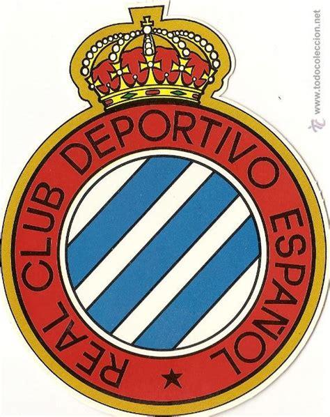 escudo troquelado, real club deportivo español - Comprar ...