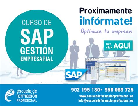 Escuela de Formación ProfesionalCurso presencial de SAP ...