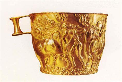 ESCULTURA (Técnicas) - Vasos de Vafio, de oro, Arte ...