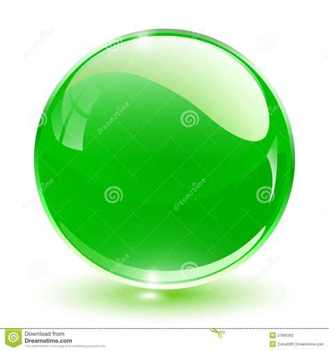 Esfera Del Cristal 3D Fotografía de archivo   Imagen: 27895262