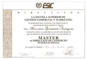 ESIC - Máster dirección comercio internacional - 2000 ...