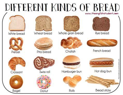 ESL, ESL vocabulary, different kinds of bread, bread, ESL ...