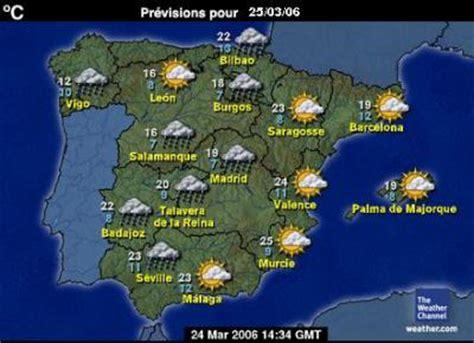 Espagne météo