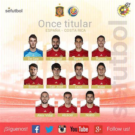 España - Costa Rica, resultado y partido minuto a minuto